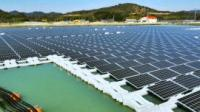 Floating solar in Japan - click for full size image